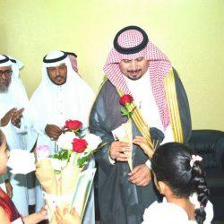 """""""الحربي """" يقوم بزيارة لجمعية البر الخيرية بأحد المسارحة"""