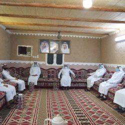 رئيس ومنسوبو جمعية بر المسارحة يهنئون القيادة الرشيدة بعيد الفطر المبارك