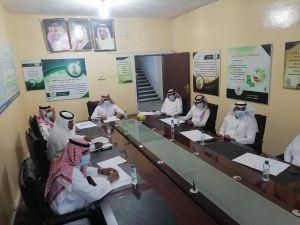 مجلس إدارة جمعية البر الخيرية بأحد المسارحة يعقد الاجتماع التاسع