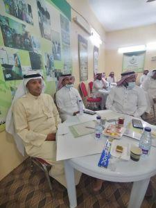 جمعية بر المسارحة تقيم دورة التميز المؤسسي للجودة للمستشار علي الحمادي